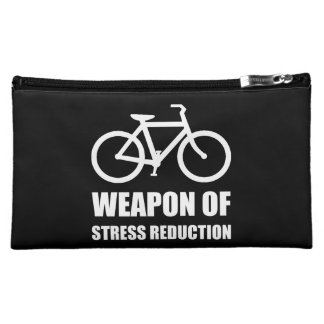 Weapon of Stress Reduction Biking Makeup Bag
