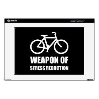 "Weapon of Stress Reduction Biking Skin For 13"" Laptop"