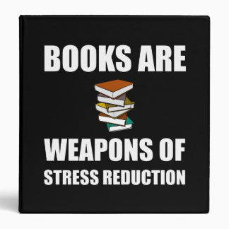 Weapon of Stress Reduction Books 3 Ring Binder