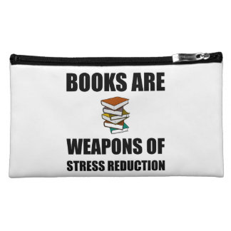 Weapon of Stress Reduction Books Cosmetic Bag