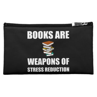 Weapon of Stress Reduction Books Makeup Bag