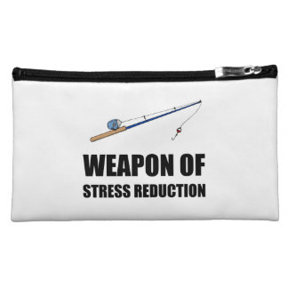 Weapon of Stress Reduction Fishing Cosmetic Bag