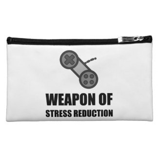 Weapon of Stress Reduction Gaming Cosmetic Bag