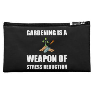 Weapon of Stress Reduction Gardening Makeup Bag