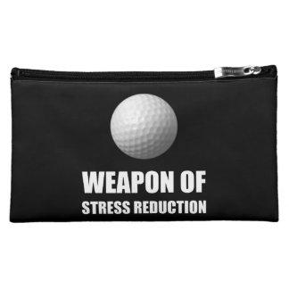 Weapon of Stress Reduction Golf Makeup Bag