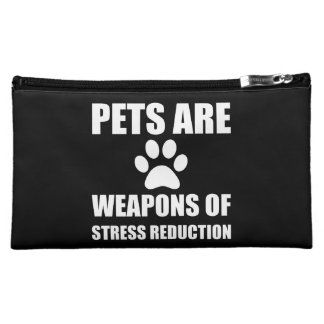 Weapon of Stress Reduction Pets Cosmetic Bag
