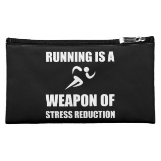 Weapon of Stress Reduction Running Cosmetic Bag