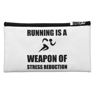 Weapon of Stress Reduction Running Makeup Bag