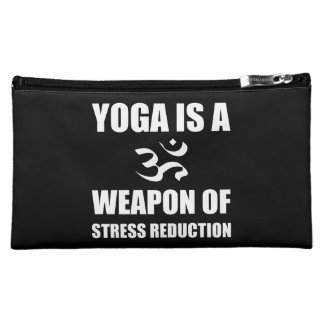 Weapon of Stress Reduction Yoga Cosmetic Bag