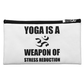 Weapon of Stress Reduction Yoga Makeup Bag