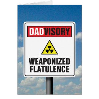 Weaponized Flatulence Card