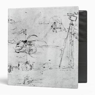Weaponry designs, fol. 40v-a 3 ring binder