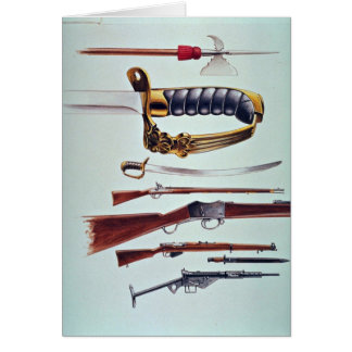 Weapons, 17th century to World War II Greeting Card