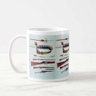 Weapons, 17th century to World War II Classic White Coffee Mug