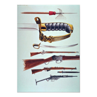 Weapons, 17th century to World War II Personalized Announcements