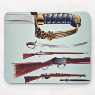 Weapons, 17th century to World War II Mouse Pad