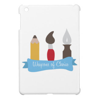 Weapons of Choice Case For The iPad Mini