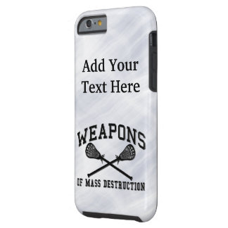 Weapons of Destruction Lacrosse iPhone Cover