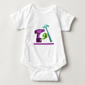 Weapons of Mass Construction Baby Bodysuit