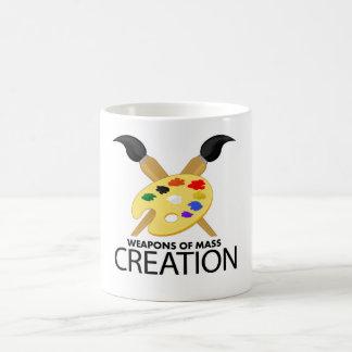 Weapons of mass creation coffee mug