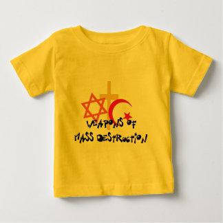 Weapons Of Mass Destruction Baby T-Shirt