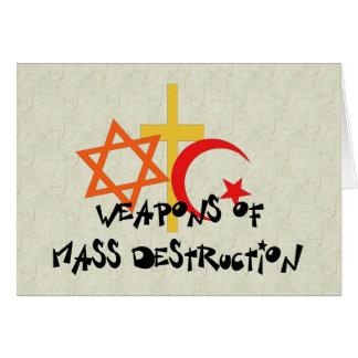 Weapons Of Mass Destruction Card