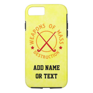 Weapons of Mass Destruction Field Hockey iPhone 7 Case