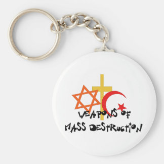 Weapons Of Mass Destruction Keychains