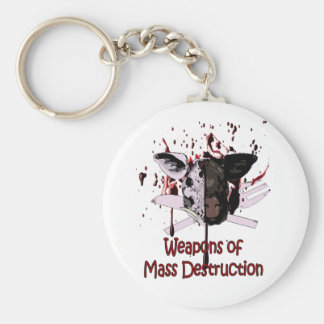 Weapons of Mass Destruction Keyring Key Chains