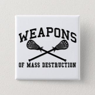 Weapons of Mass Destruction Lacrosse Button