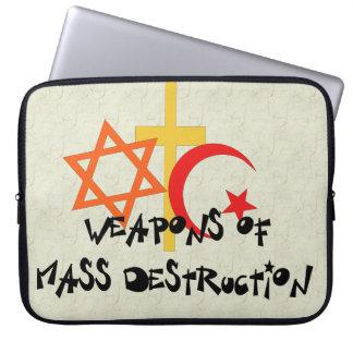 Weapons Of Mass Destruction Laptop Sleeve