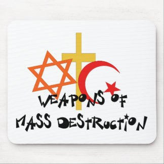 Weapons Of Mass Destruction Mouse Pad