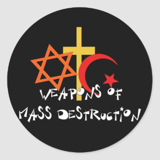 Weapons Of Mass Destruction Stickers