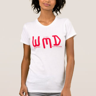 Weapons of Mass Distraction (Red Text) Shirt