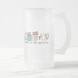 Weapons Of Math Destruction 16 Oz Frosted Glass Beer Mug