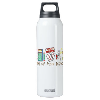 Weapons Of Math Destruction 16 Oz Insulated SIGG Thermos Water Bottle