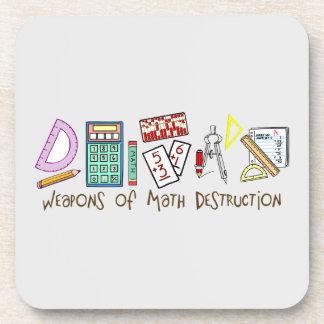 Weapons Of Math Destruction Beverage Coaster