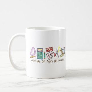 Weapons Of Math Destruction Classic White Coffee Mug