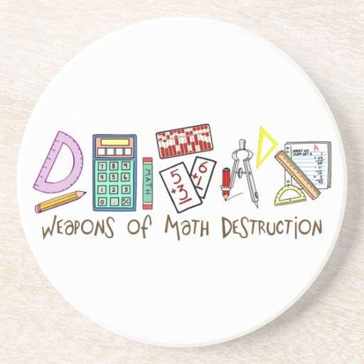 Weapons Of Math Destruction Drink Coaster