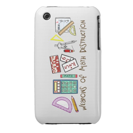 Weapons Of Math Destruction iPhone 3 Cover