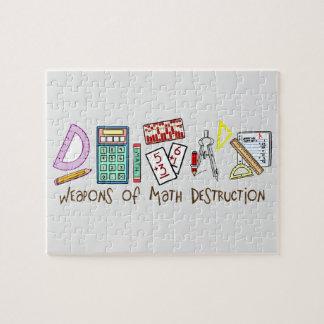 Weapons Of Math Destruction Jigsaw Puzzles