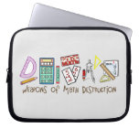 Weapons Of Math Destruction Laptop Computer Sleeves