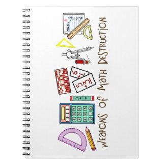 Weapons Of Math Destruction Notebook
