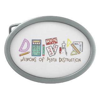 Weapons Of Math Destruction Oval Belt Buckle