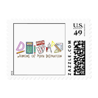 Weapons Of Math Destruction Postage Stamps