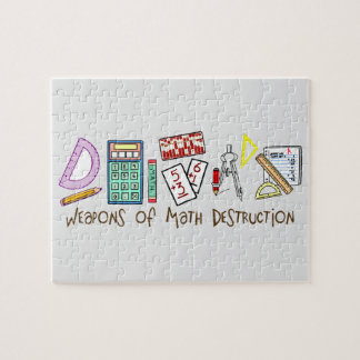Weapons Of Math Destruction Jigsaw Puzzles