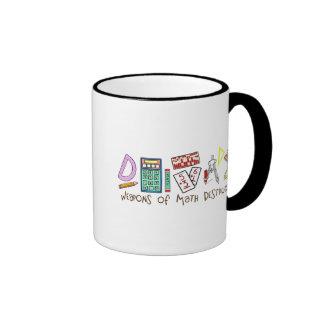 Weapons Of Math Destruction Ringer Coffee Mug