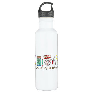 Weapons Of Math Destruction Stainless Steel Water Bottle