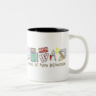 Weapons Of Math Destruction Two-Tone Coffee Mug