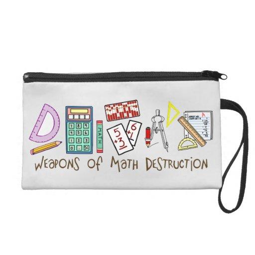 Weapons Of Math Destruction Wristlet Purses